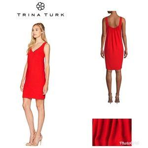 Trina Turk crêpe sheath dress. New